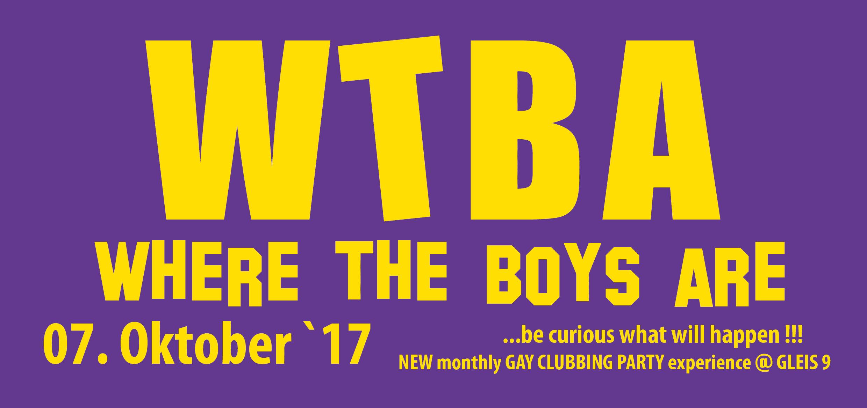 WTBA – Where The Boys Are