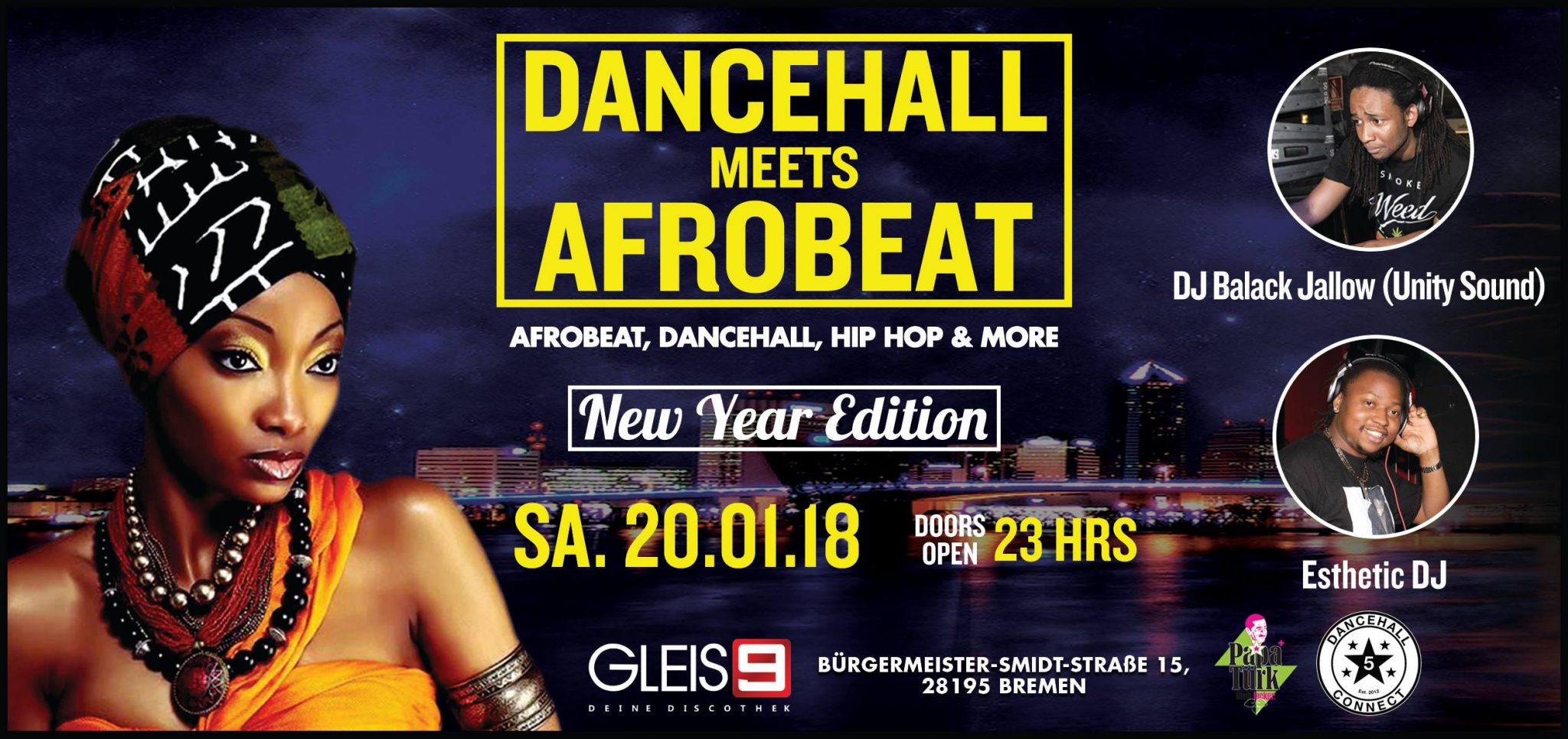 Dancehall meets Afrobeat ´New Year Edition´