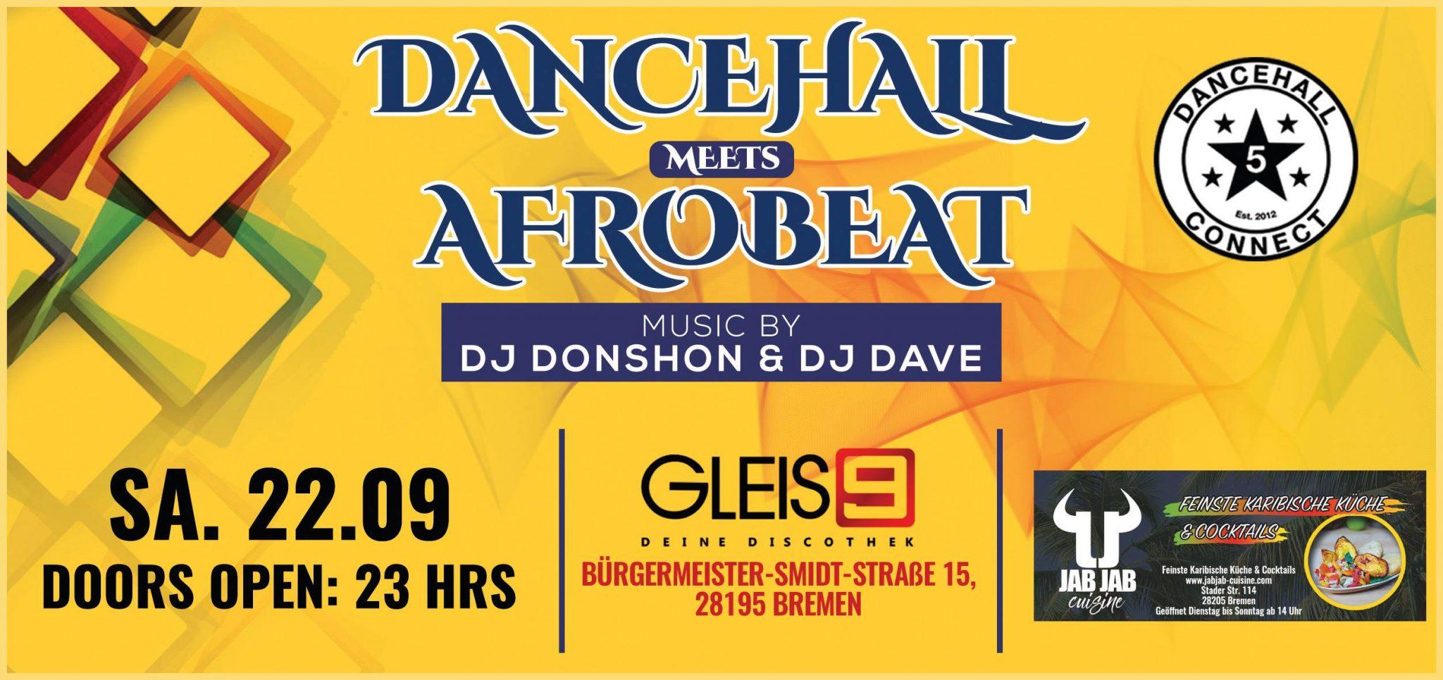 Dancehall meets Afrobeat
