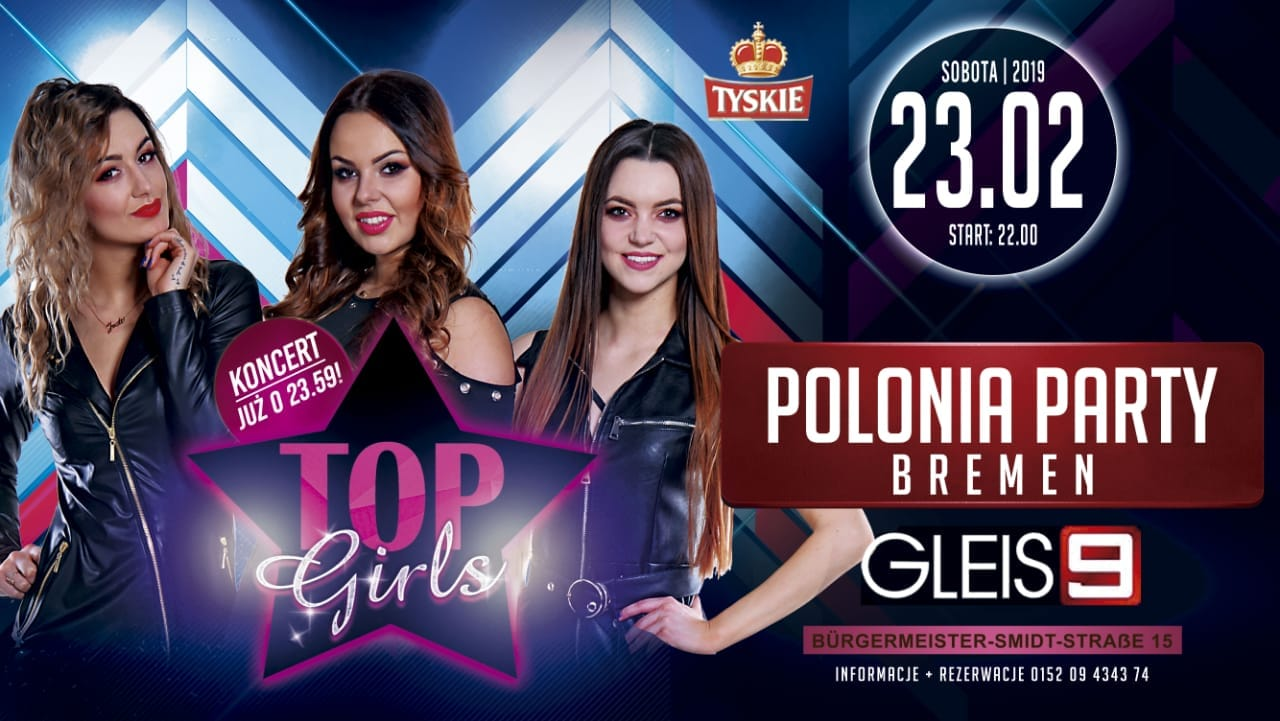Polonia Party – Top Girls Koncert