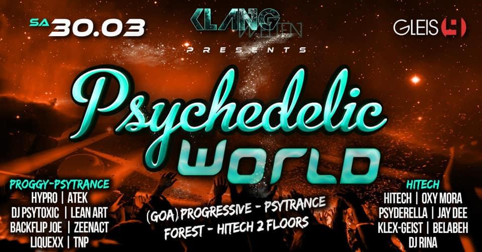 Psychedelic World: Progressive-Psytrance-Hitech